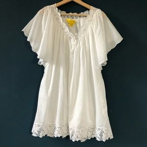 Catherine Malandrino White Cotton Mini Dress, 2